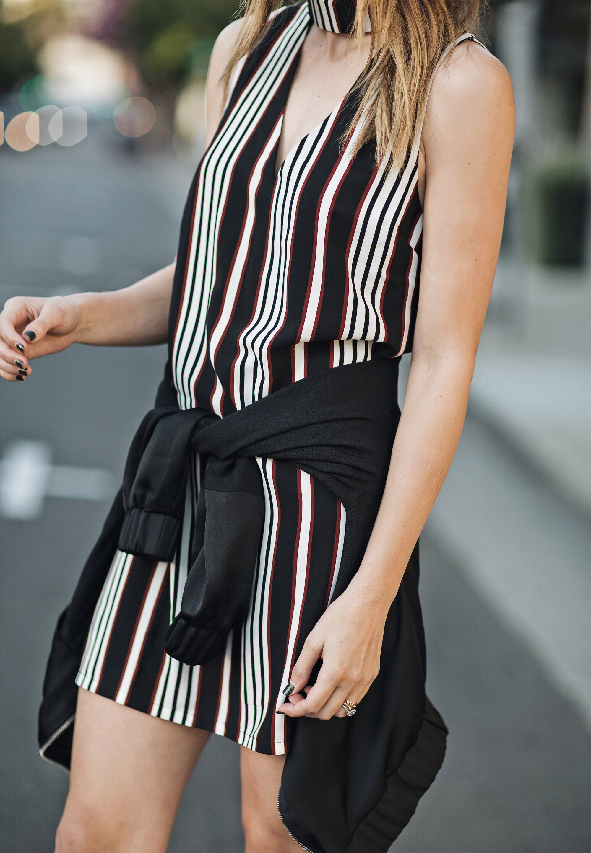 Striped Shift Dress brittanyxavier.com