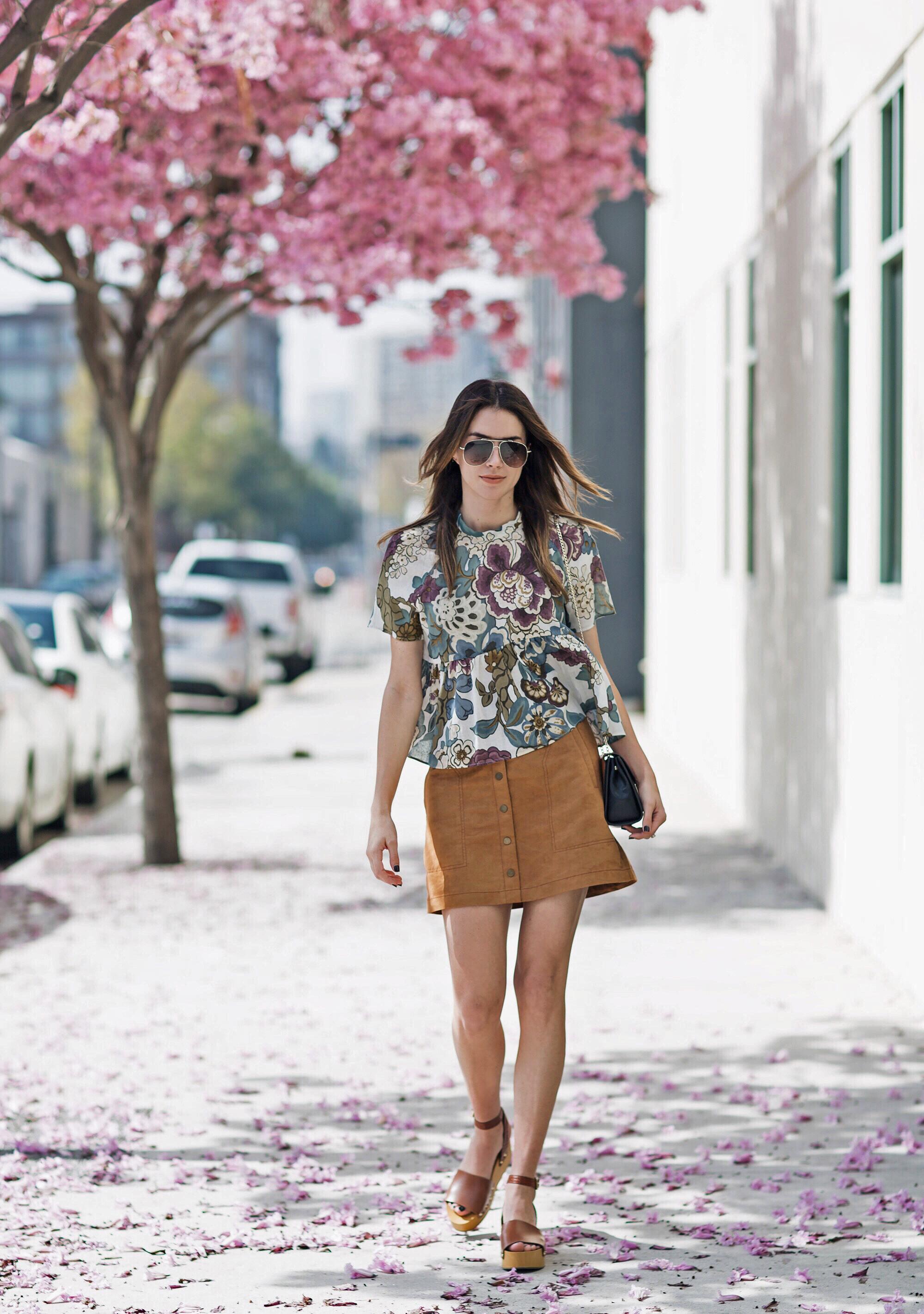 brittanyxavier.com Blogger Florals