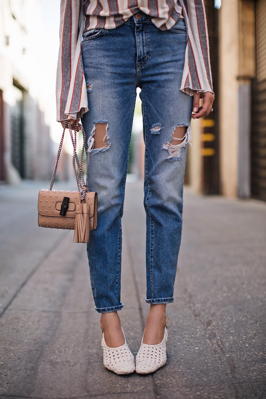 Boyfriend Jeans Summer Blogger Style