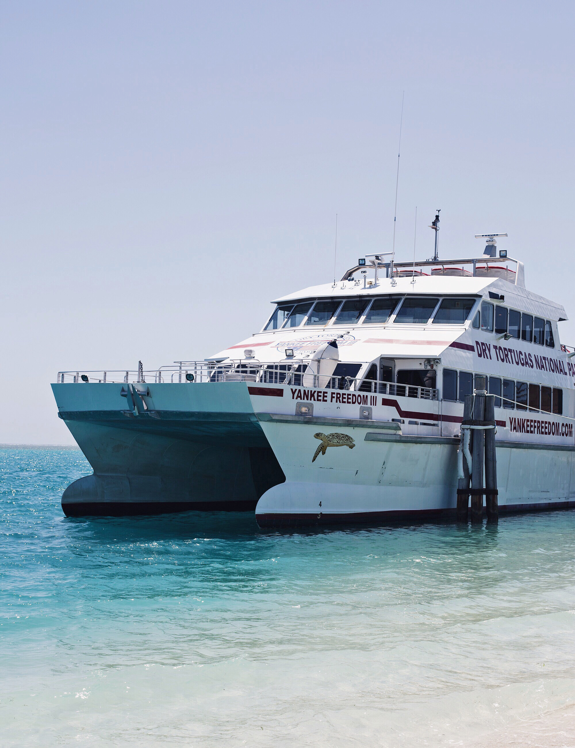 Dry Tortugas Ferry Ride
