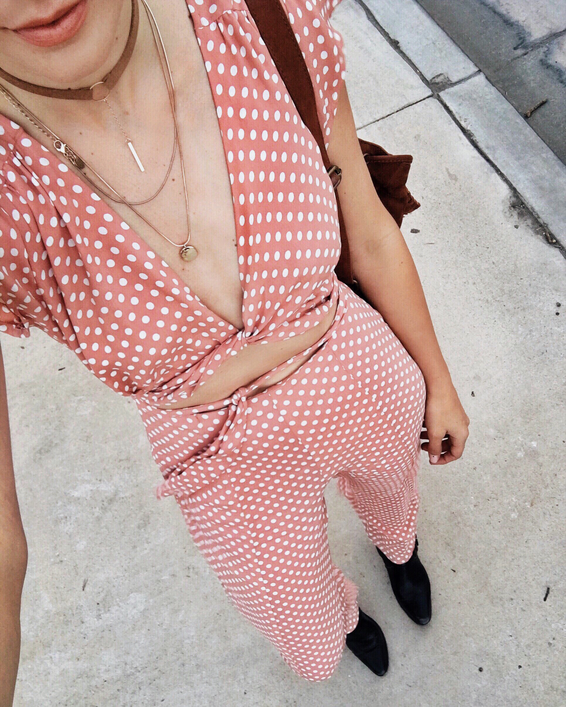 Privacy Please Polka Dot Jumpsuit Coachella