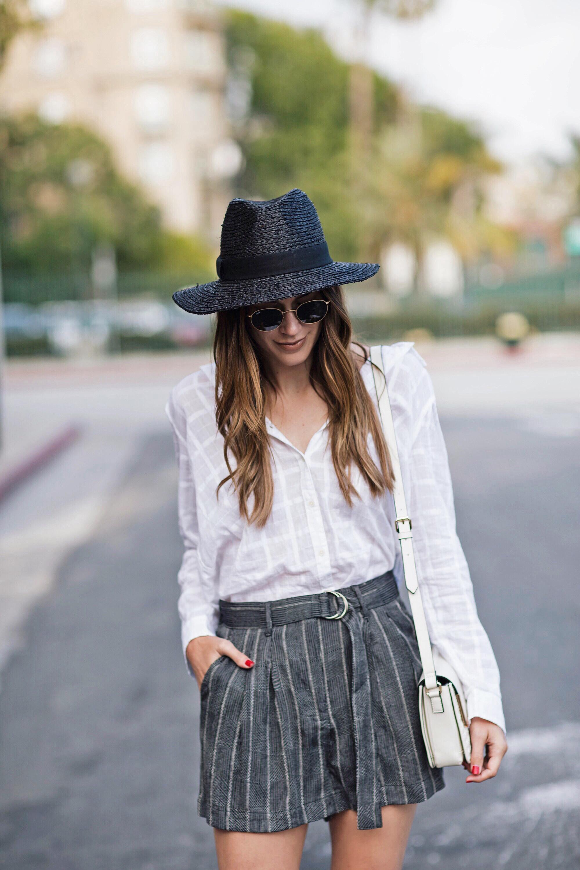 Black Straw Hat brittanyxavier.com