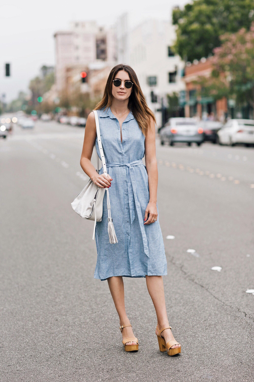 Blogger Street Style Linen