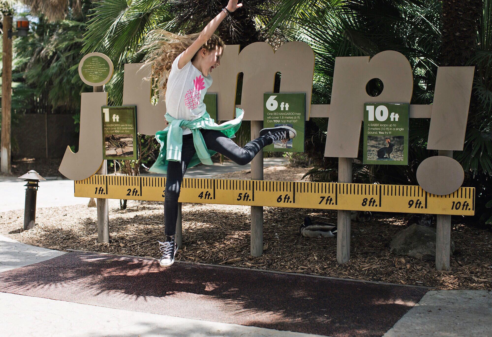 San Diego Safari Park Jump