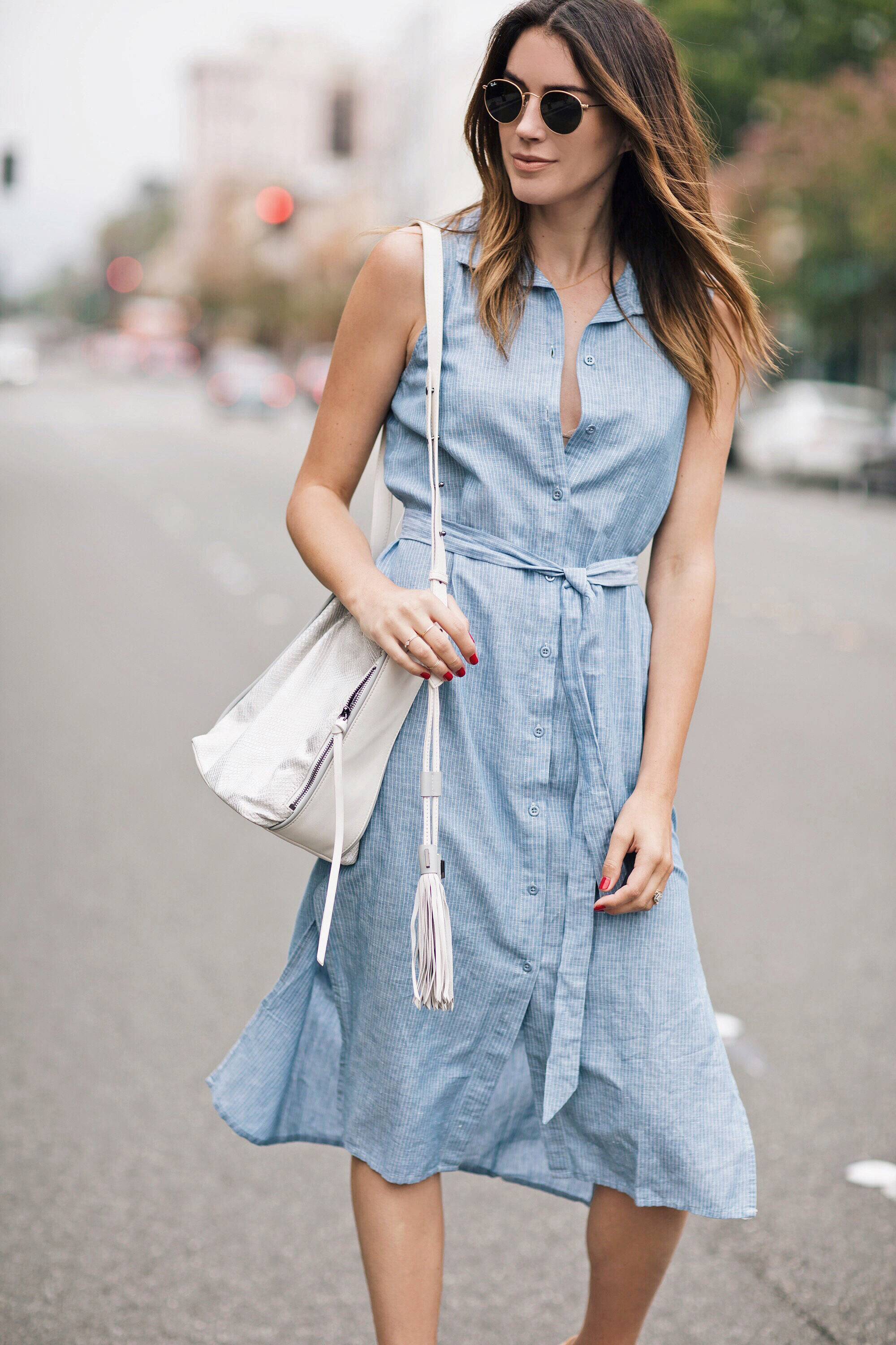 Linen Shirt Dress Brittany Xavier