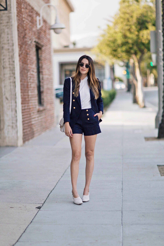 Nautical Blazer and Shorts