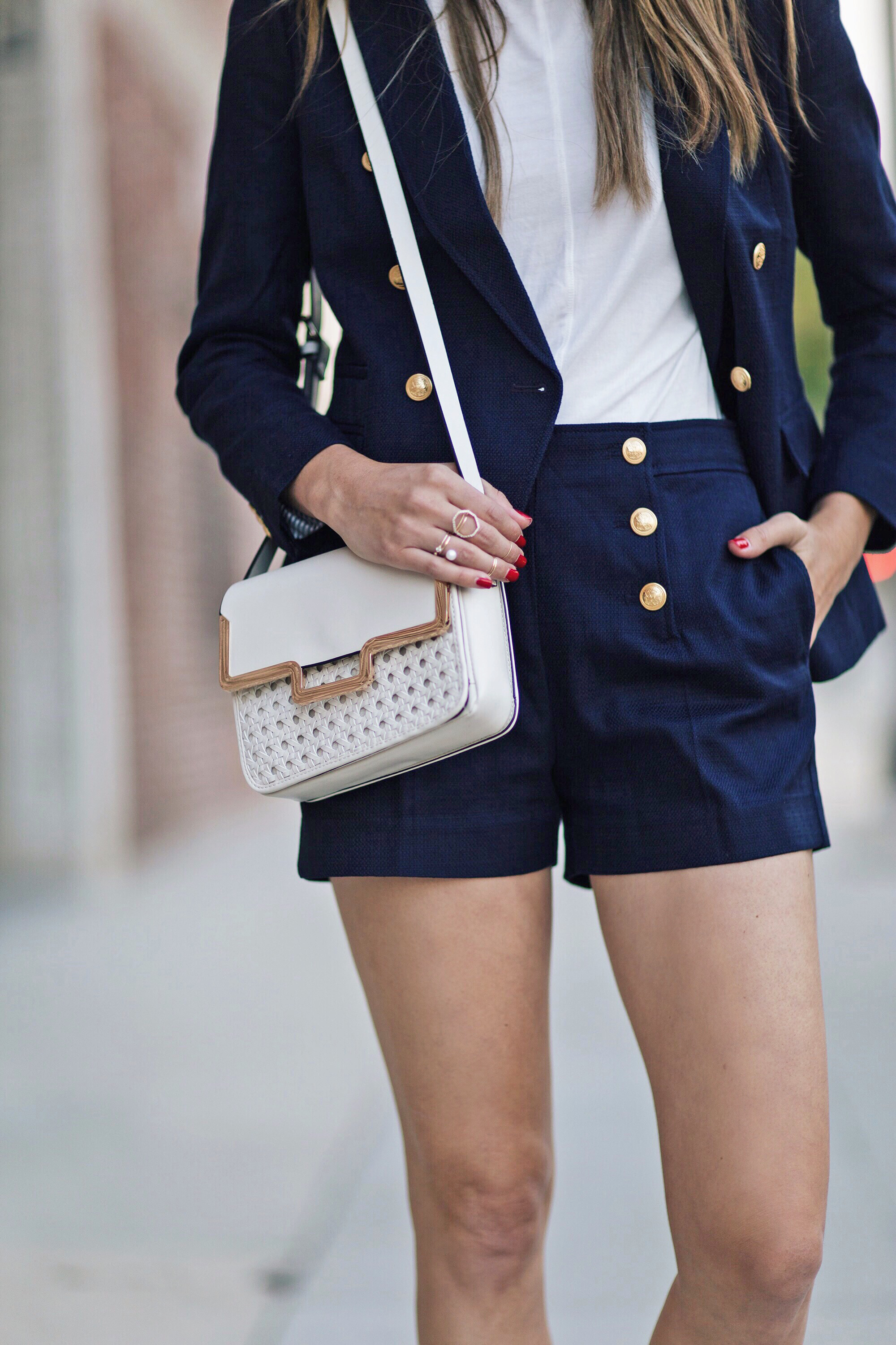 Sailor Navy Shorts