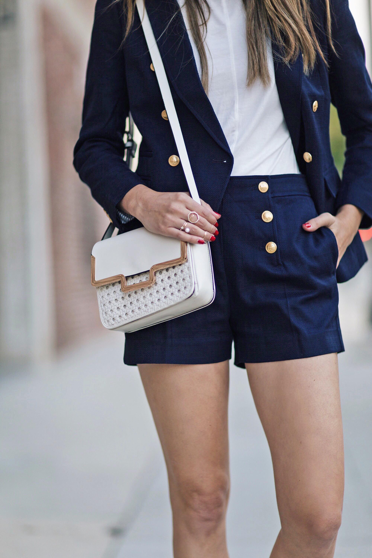 Sailor Navy Shorts