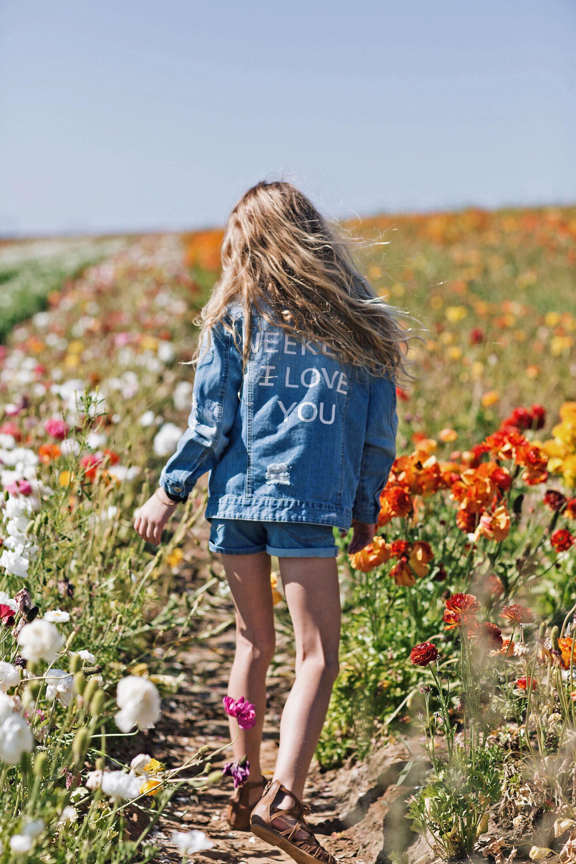 flower field near Carlsbad
