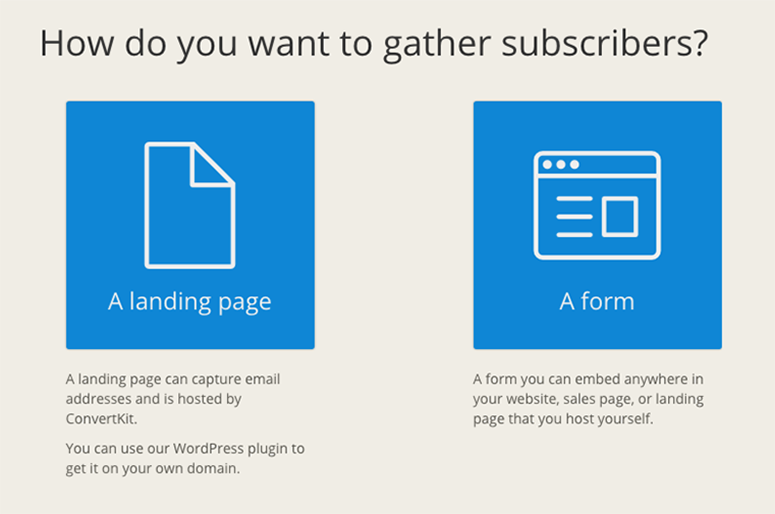 how to gather subscribers