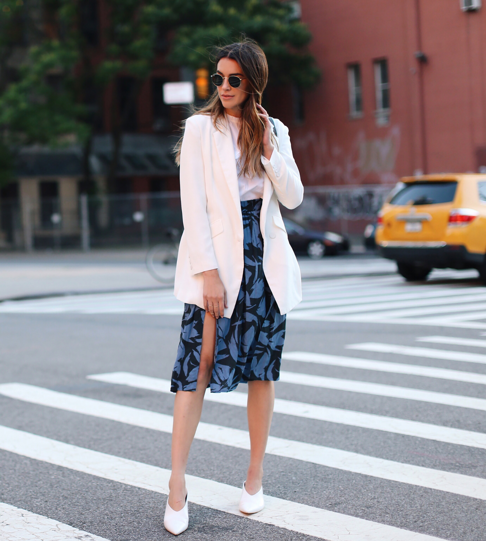 Skirt and Blazer Combo
