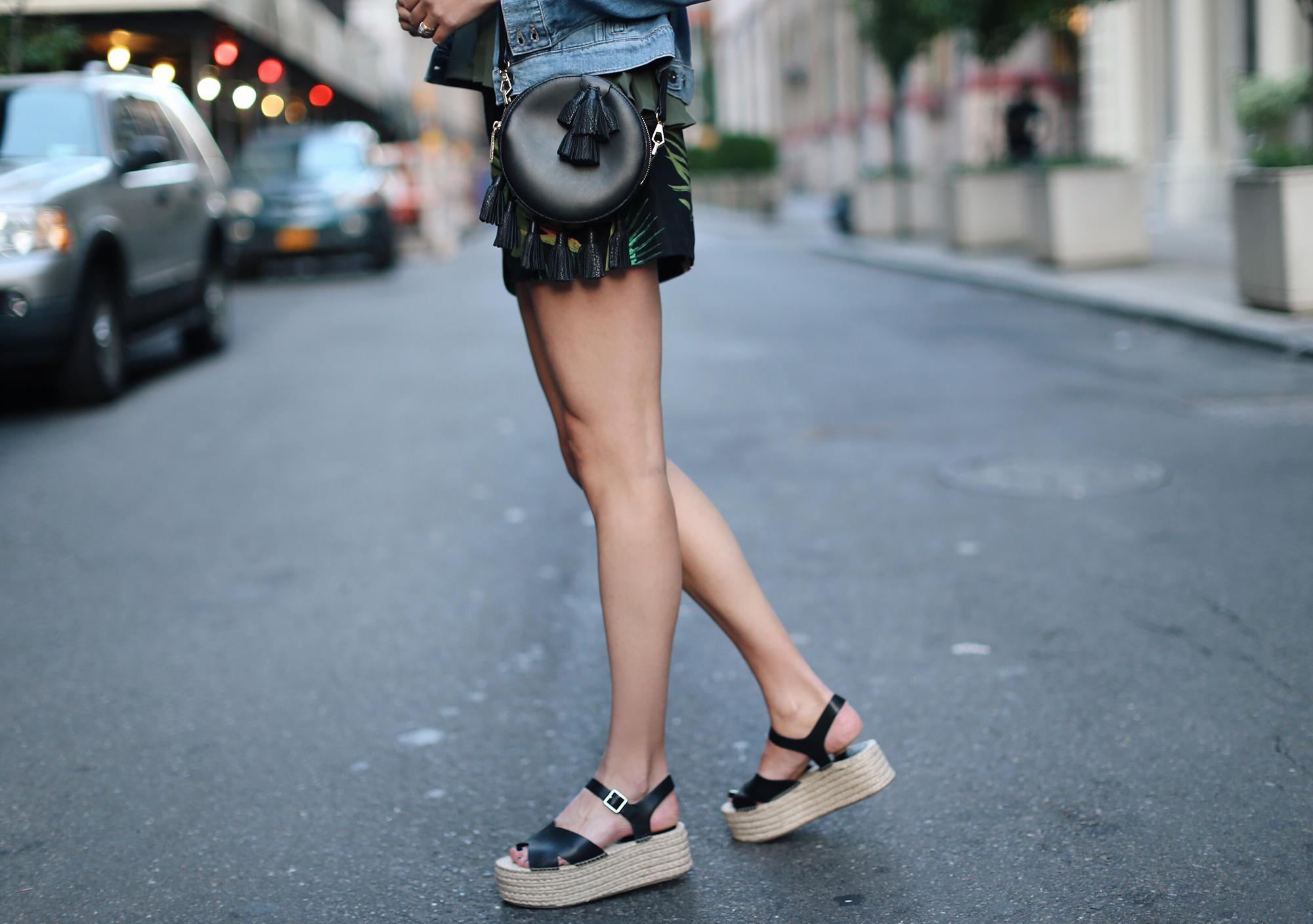 Flatform Espadrille Sandals
