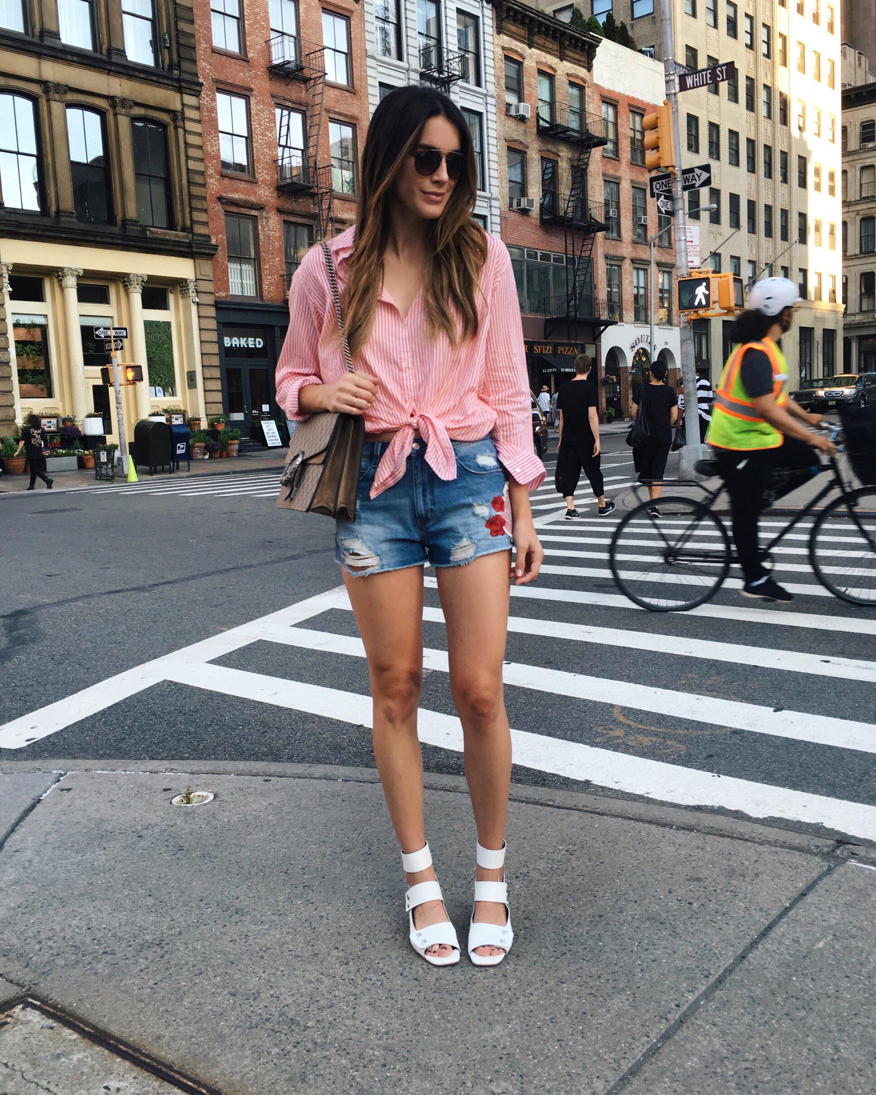 Tie Blouse Zara brittanyxavier.com
