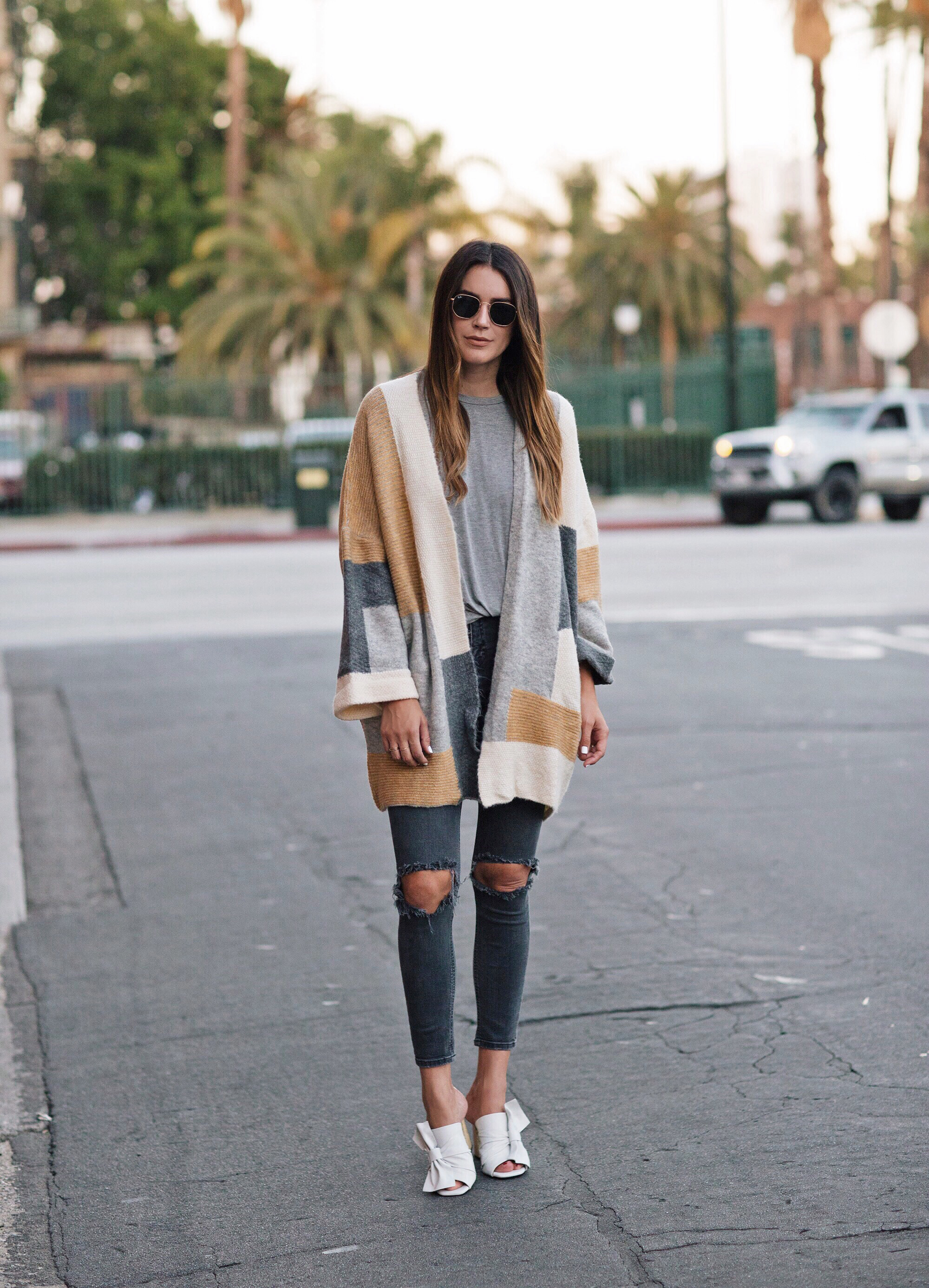 Color Block Sweater Topshop