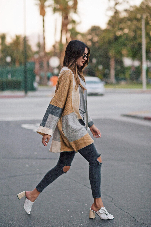 Camel Cardigan Sweater