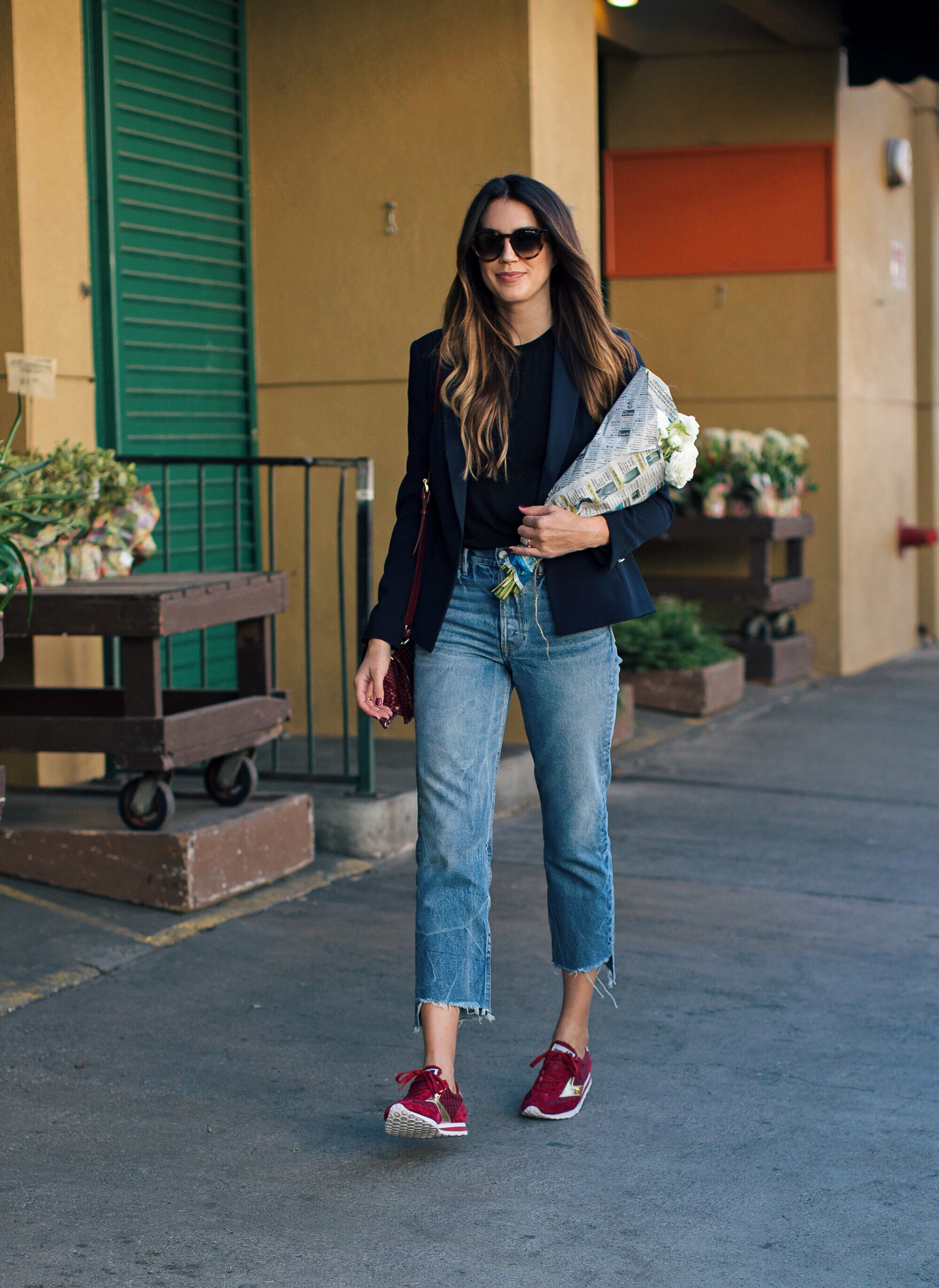 Red Sneakers Trend