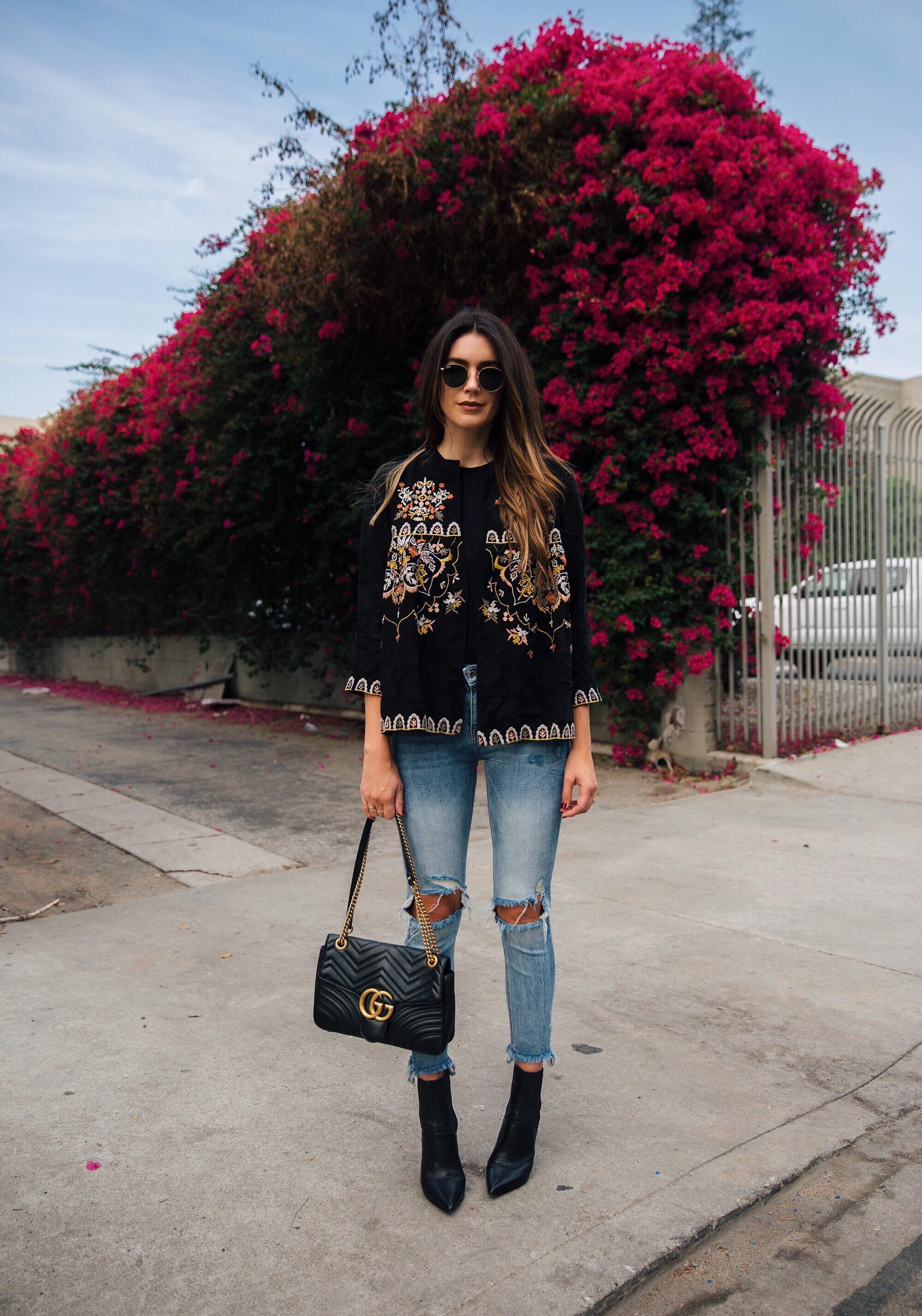 Ripped Skinny Jeans Zara brittanyxavier.com