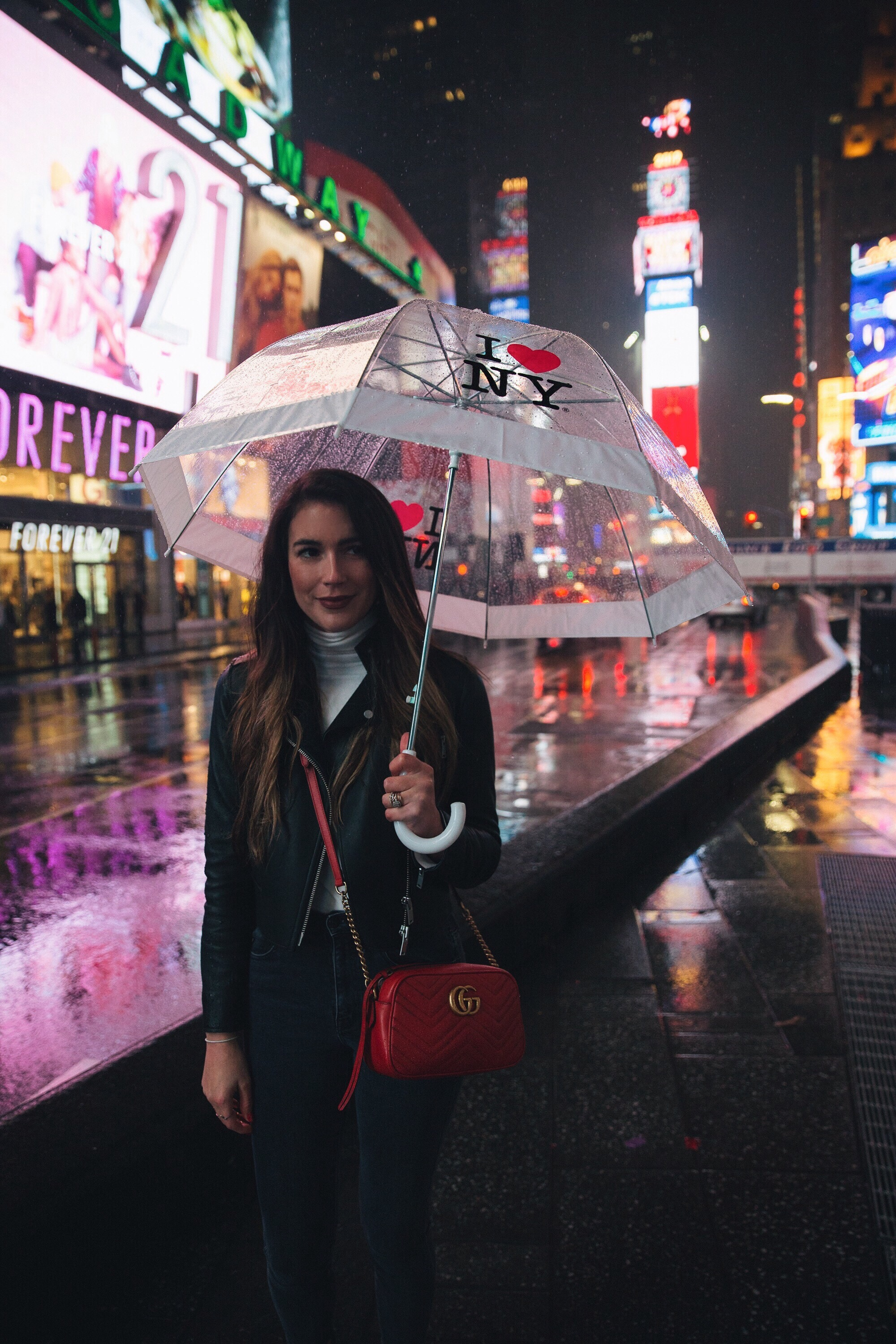 I Love New York City Umbrella