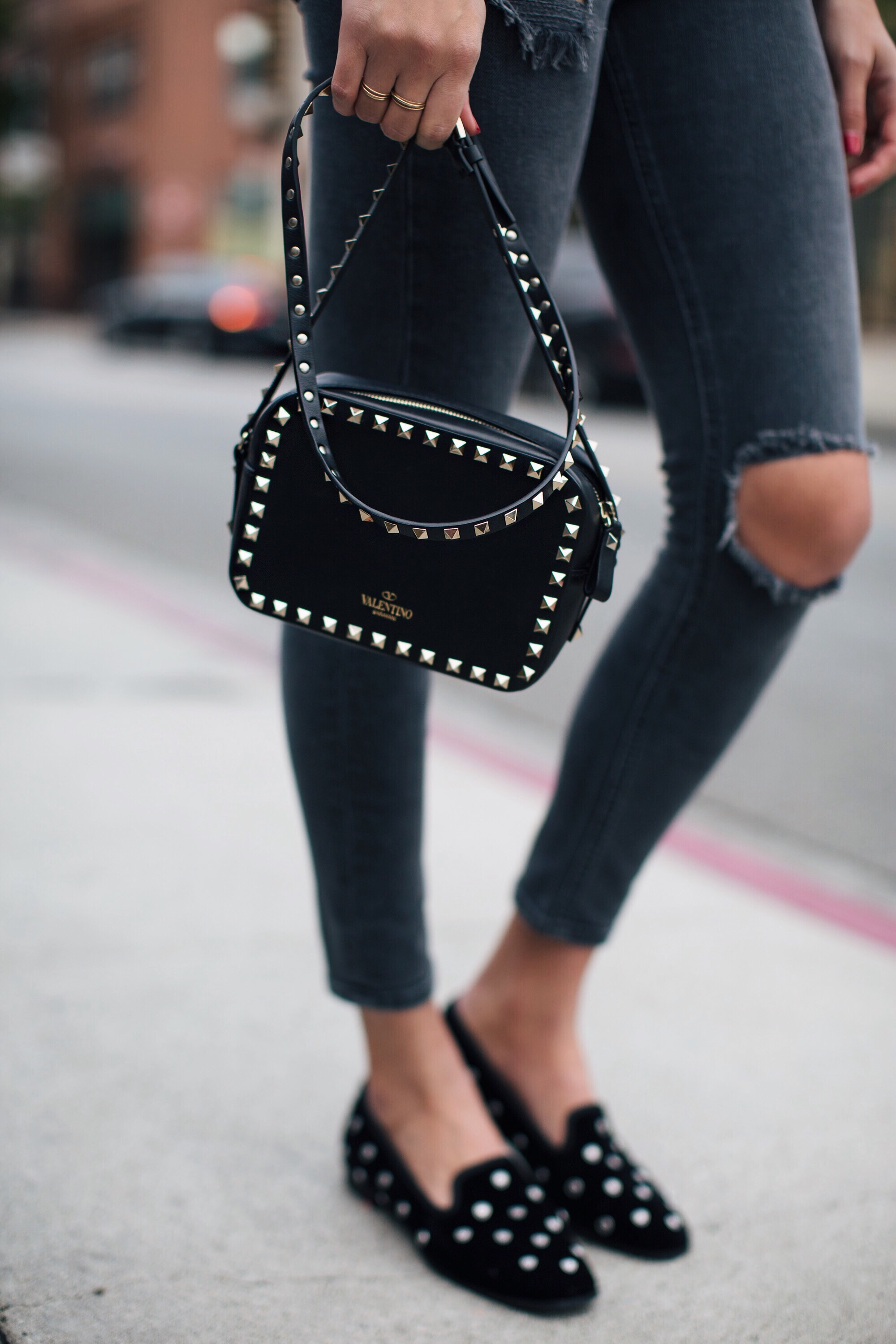 Studded Valentino Bag