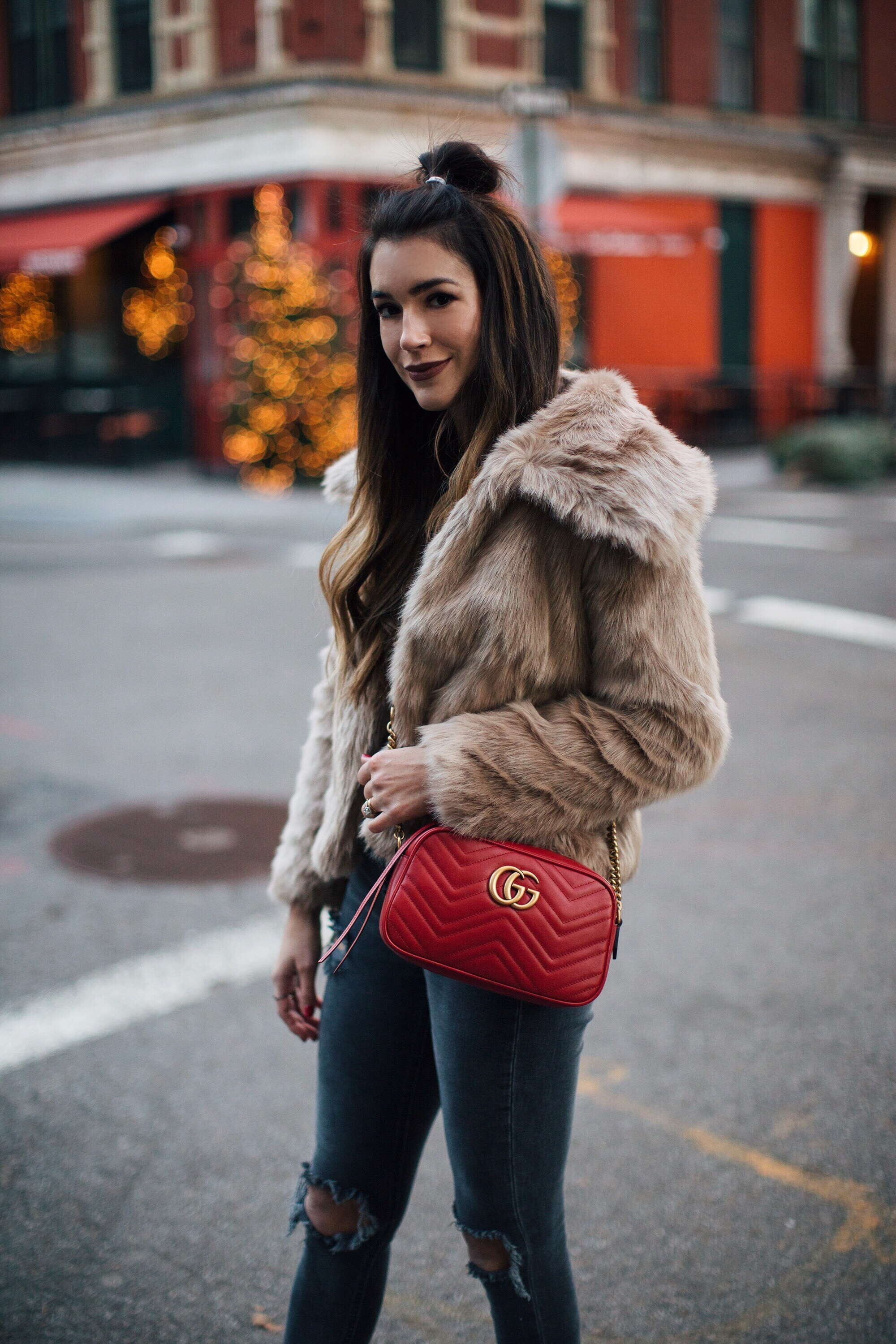 Faux Fur Coat Brittany Xavier