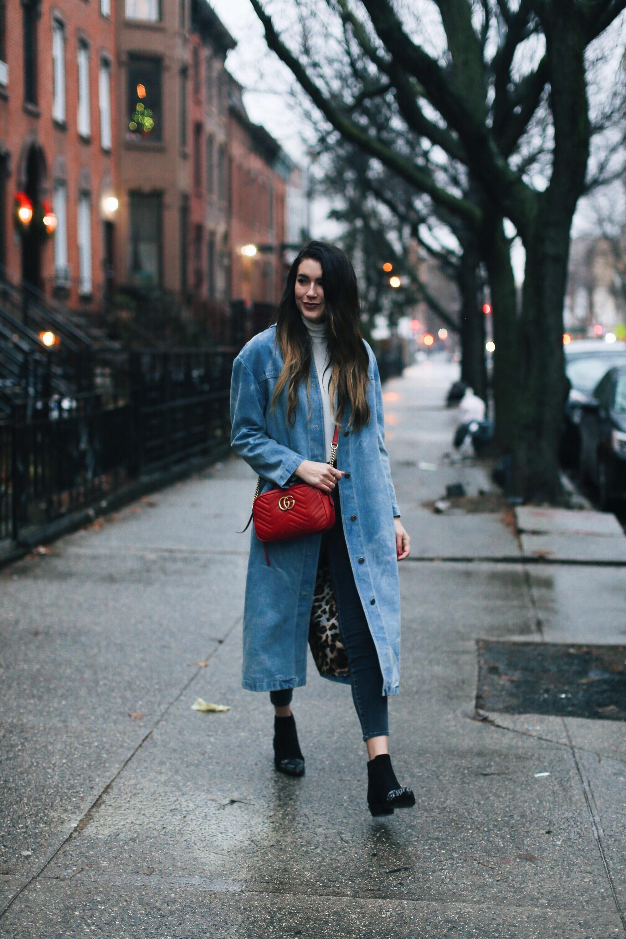 Here/Now Denim Jacket Brittany Xavier