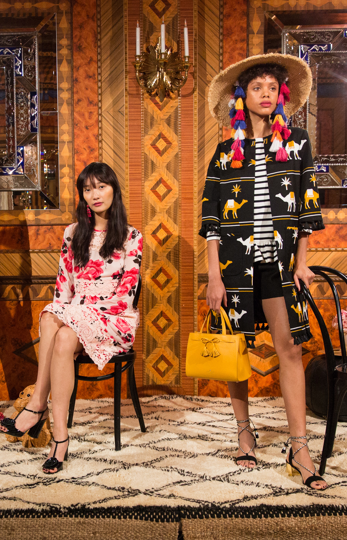 Kate Spade New York : Spring 2017 Fashion Presentation