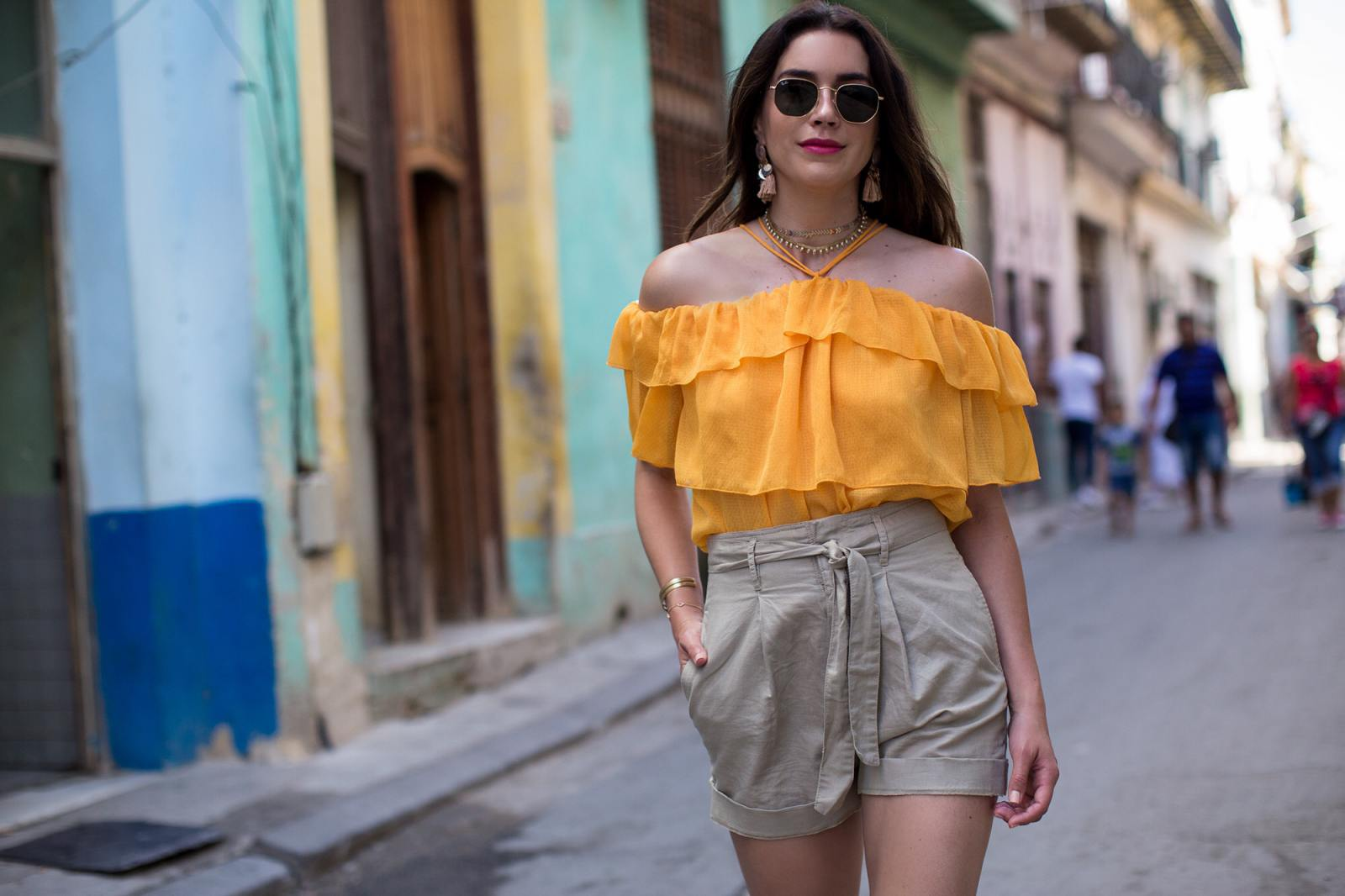 Havana Nights with Hu0026M | Thrifts and Threads