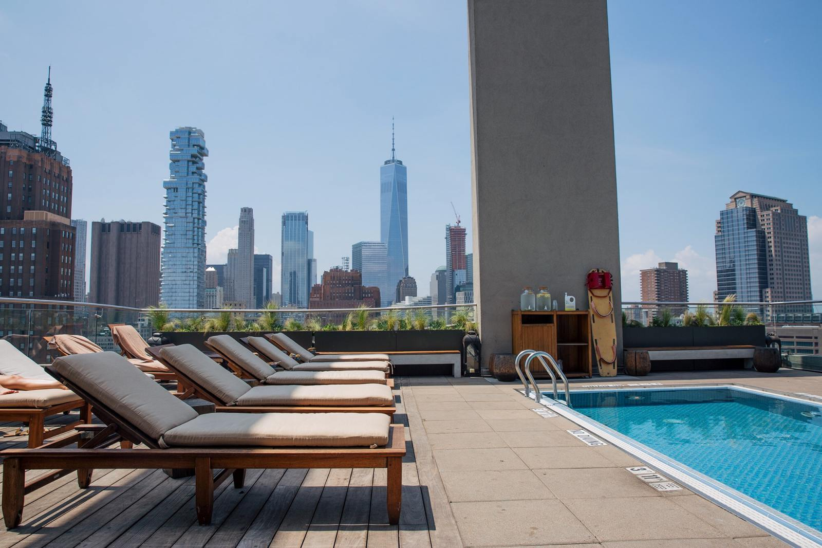 My stay at the james hotels in new york thrifts and threads - New york hotels with rooftop swimming pools ...