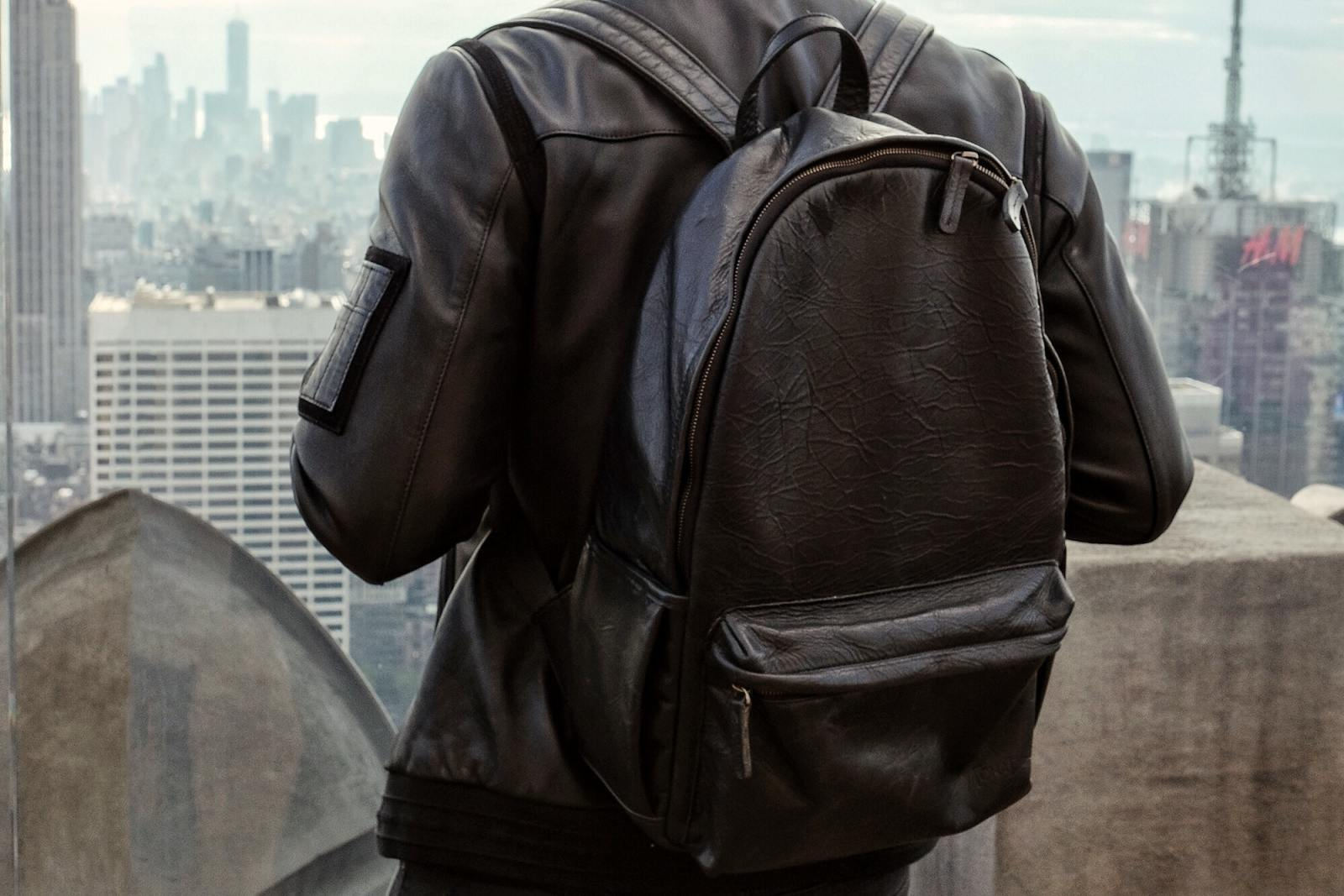 ONA Leather backpack