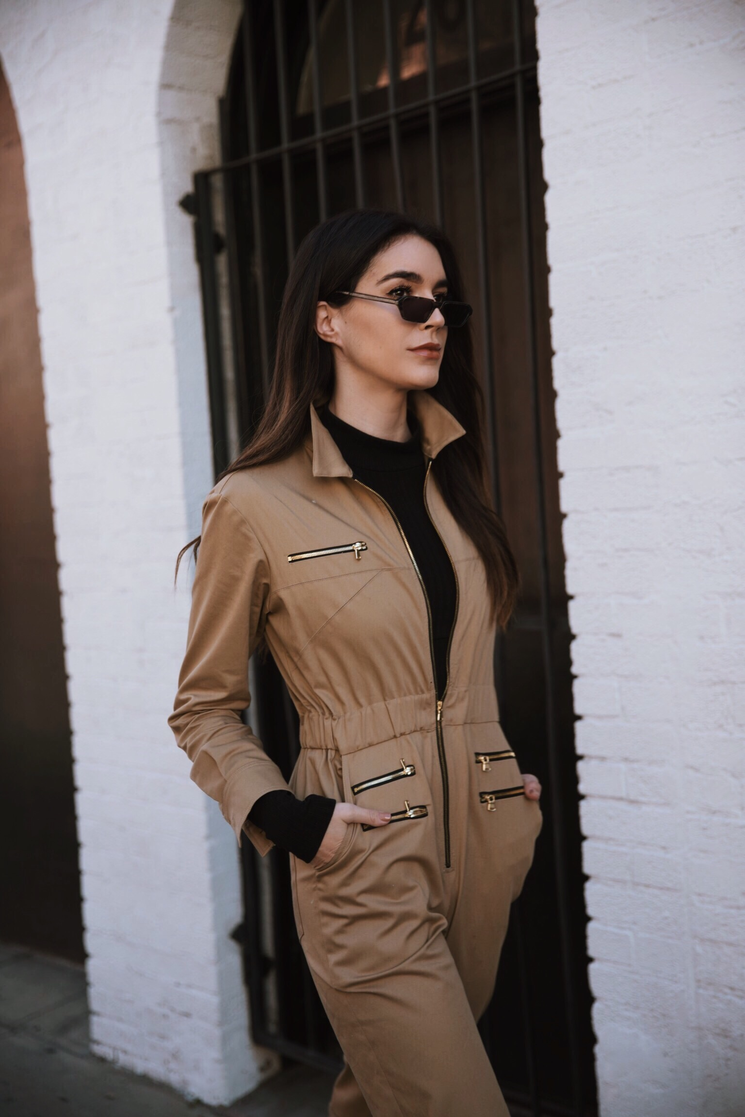 4dc7f00bd0a6 How to Wear a Utility Jumpsuit Two Ways