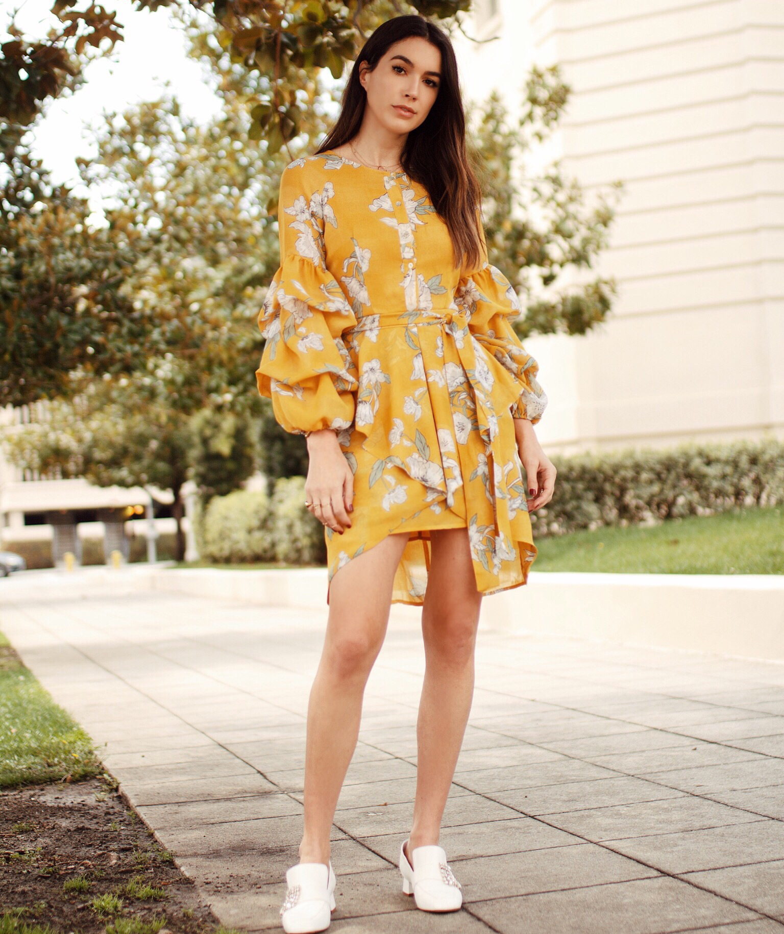 the yellow dress you need this season  thrifts and threads