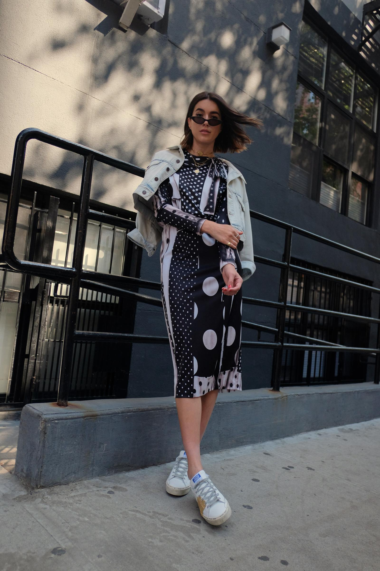 How To Style Polka Dots   Thrifts and